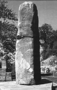 Monumento a los foramontanos en la  Hoz de Santa Lucía