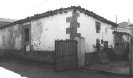 Vista de la casa natal de Casimiro Sainz
