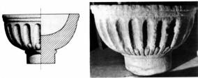 Dibujo y foto de la pila de Rocamundo