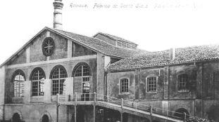 La fábrica de Santa Clara, en las inmediaciones de la estación ferroviaria de Reinosa