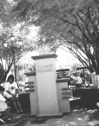 Monumento conmemorativo de la fundación de la ciudad