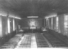 Interior iglesia de los Carmelitas Descalzos