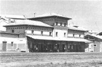 Estación FEVE. Mataporquera. 1985