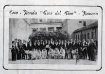 Coro y Grupo de Danzas en 1967