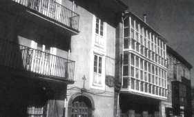 Edificio actual donde aun se conservan los escudos originales