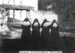 Siervas de María en el asilo - hospital hacia 1906