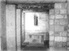 Cripta de iglesia prerrománica. Siglos VII al IX