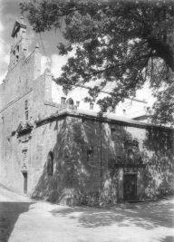 Fachada de la iglesia. Siglo XVII