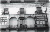 Fachada posterior de La Casona