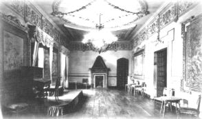 Salón principal de La Casona