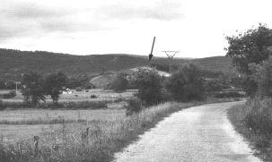 Figura 1. La Peña de San Pantaleón desde el oeste