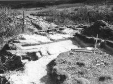Figura 4. La ermita una vez excavada
