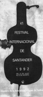 Celestino Cuevas.  Cartel FIS 1992