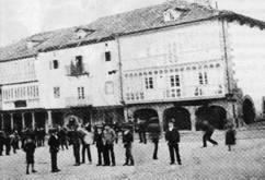 Plazuel Espolón, actual Plaza Diez Vicario