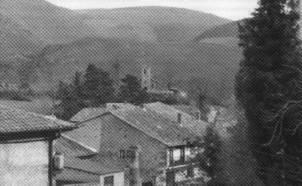 Vista parcial del pueblo de Pesquera