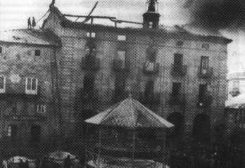Incendio en el Ayuntamiento de Reinosa