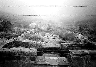 Captación de agua para la red de abrevaderos. Sejos. M.C.C. 22-VII-99