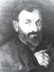 Retrato de Manuel Salces, pintado por su hijo Federico