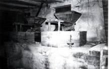 Molino de Federico Amor. Sala de molienda(primera planta)