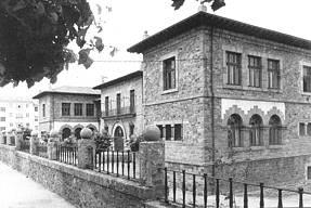 Imágen del colegio Concha Espina, conocido popularmente en los años 30 como Escuelas de la Villa