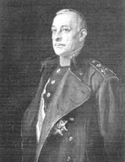 El general Primo de Rivera. Retrato de José Ribera. Museo del Ejercito. Madrid