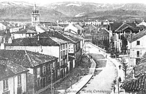 Calle Canalejas en 1920