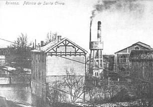 Fábrica de vidrio de Santa Clara. Principios de los años 20