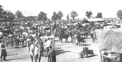 Feria de San Mateo a comienzos de siglo
