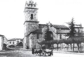 Iglesia de San Sebastián. 1916