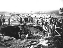 Trabajos de construcción de la Sociedad Española de Construcción Naval. 1919