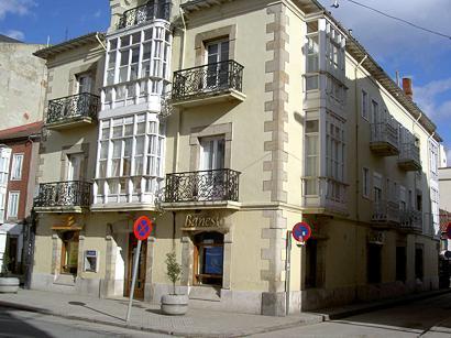 Casa en la que vivió Demetrio Duque y Merino