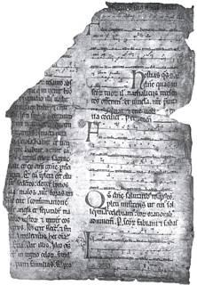 Gradual s. XIII. Camesa
