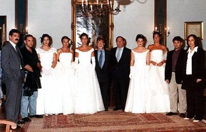 Premiados en 2002 junto con el alcalde y la Reina y Damas de Honor