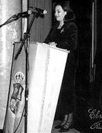 Marta Pastor Laherrán, mantenedora en 1996