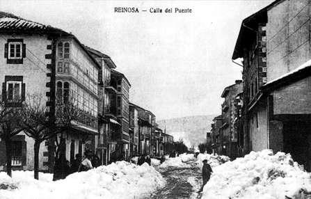 Calle del puente (1911). Fotografía de Jesús Otero. Colección particular de Teodoro Pastor