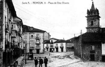 Reinosa. Plaza de Díez Vicario