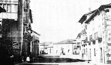 Calle Mayor, Ermita de  S. Roque y Escuela de la Villa