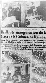"""Recorte prensa del diario """"Alerta"""""""