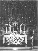 Retablo Mayor de  la Iglesia de San Sebastian de Reinosa