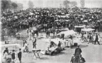 Reinosa 1950, Feria de S. mateo en el campo Santiago