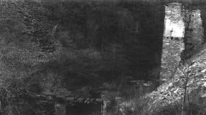 Restos de la ferrería del Gorgollón. Pesquera