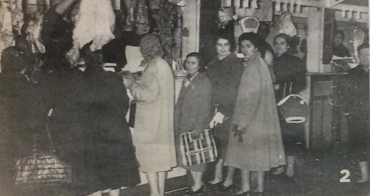 cola el día de Pascua de 1957