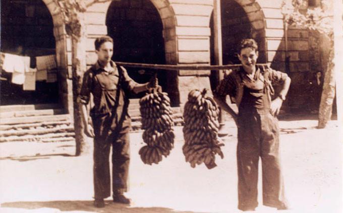 fotos de los años 50, Manolo Campos y José Rojo